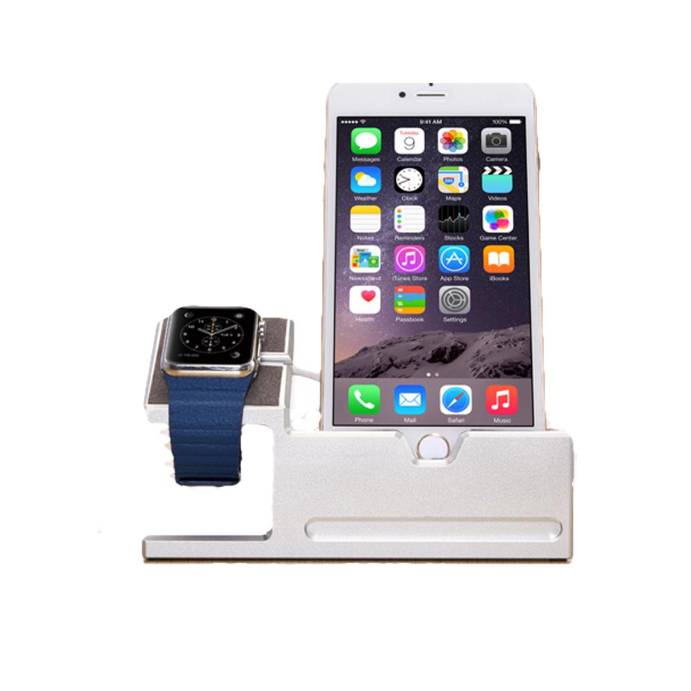 design apple watch iphone st nder usb hub docking station. Black Bedroom Furniture Sets. Home Design Ideas