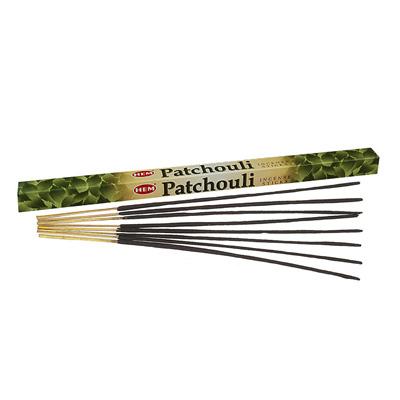 Räucherstäbchen HEM Patchouli 3 Packungen á 8 Stück