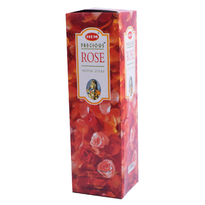 Räucherstäbchen HEM Precious Rose 25 Packungen á 8 Stück