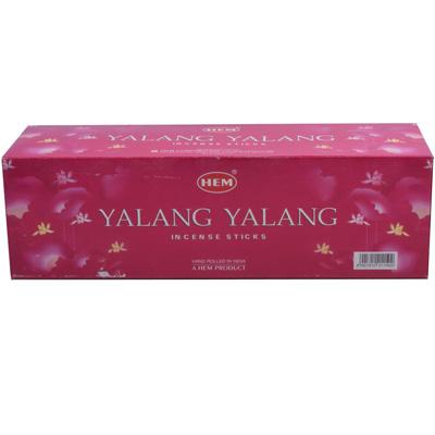 Räucherstäbchen HEM Yalang Yalang 25 Packungen á 8 Stück