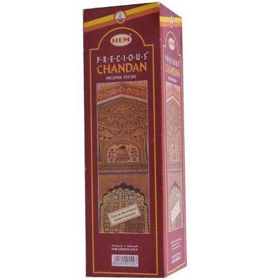 Räucherstäbchen HEM Precious Chandan 25 Packungen á 8 Stück