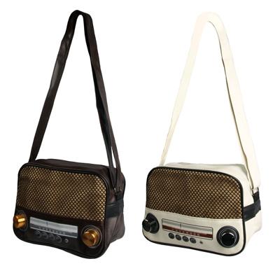 """Radio Tasche """"Retro"""" klein"""