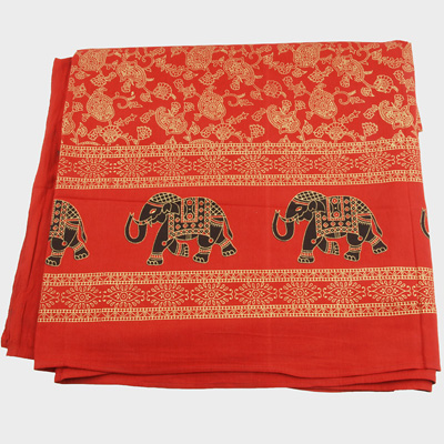 Wandtuch Wandbehnge Tagesdecke mit Elefanten Dekotuch Tuch gro