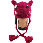Tiermütze Pinkes Monster