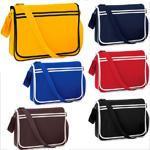 Moderne Retro Messengertasche in verschiedenen Farben