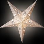 Sternenlicht Sia Silver inkl. 3 Meter Zuleitung E14